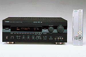 """YAMAHA"" - AMPLIFIER / AV RECEIVER and ""PIONEER"" LD PLAYER."