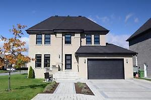 Pierrefonds modern house (open concept)