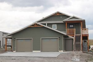 West of Pincher Creek Brand NEW open concept Home available  Now
