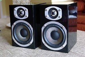 Deux superbes haut parleurs ENERGY RC-mini-B-1 Noir piano