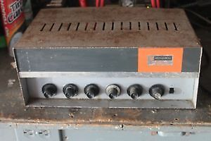 BOGAN CB100 AMPLIFIER , NEEDS A COUPLE TUBES ,reduced to $60