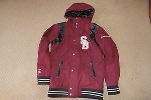 Mens Special Blend Bronx insulated snowboard jacket small RARE