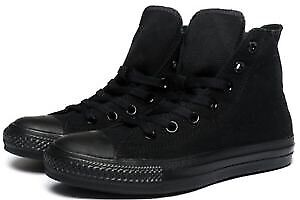 All Black high top converse shoes