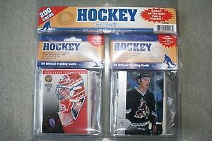 BRAND NEW 200 PACK HOCKEY CARD SET