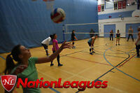 Coed Volleyball League Refereed