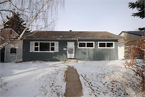 Large, unfurnished house for rent in Northwest Edmonton
