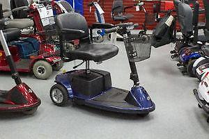 Pride Revo - Preowned Mobility Scooter - Includes Baskets & Flag