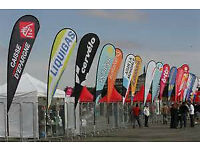 Promote Your Events To Thousands Of Cars Per Day. Put Sail Banners on Private Land for £60 Per MONTH