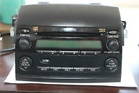 Toyota Sienna 2008 WMA MP3 CD Player
