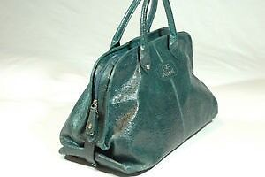 Gianfranco Ferre Ostrich Leather Handbag (New)