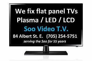 TV repairs & more!  Soo Video TV