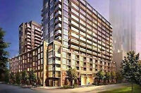 1B+D  new condo @ 35 Bastion Street@York Harbour DownTown