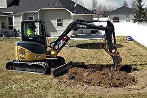 Excavation or Concrete Removal Thunder Bay its George Ward.