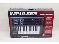 Novation impulse 25 new in box
