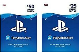 PlayStation PSN Card 75 GBP Wallet Top Up | PSN Download Code - UK account ! price stands !