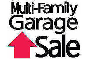 Huge Multi Family Garage Sale