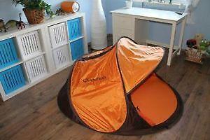 wurfzelt zelte strandmuscheln ebay. Black Bedroom Furniture Sets. Home Design Ideas