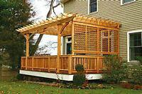 Decks, Fences and Backyard Hardscapes