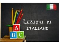 Italian lessons and group conversation classes with native and experienced speaker
