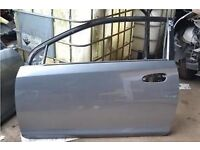 HONDA CIVIC DOORS IN SILVER OF 2009 TYPE R (READ FULL ADD AS TWO SEPARATE PRICES )