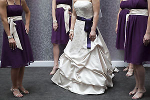 ~DETAILED CHAMPAGNE DRESS WITH ACCESSORIES~ London Ontario image 2