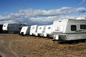 any size RV storage $20 a month at wetaskiwin storage company