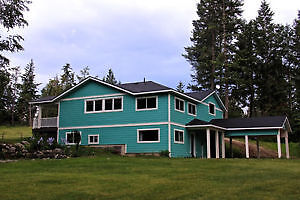 beautiful home and land in Creston, BC...a great investment!