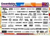2x Creamfields Tickets SLIVER 4 day camping