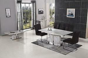 MARBLE TOP DINING TABLE ONLY (CR2415)