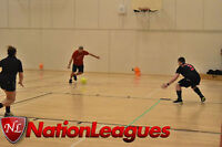 Indoor Rec. Coed Soccer League Refereed