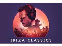 Pete Tong Ibiza Classics o2 London- 2 tickets 15th dec below FV