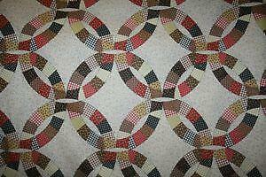 Wedding Ring Quilt eBay