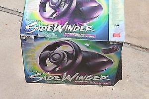 Vintage Microsoft SideWinder Wheel For PC original box