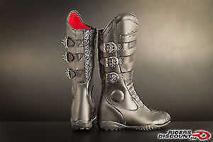 Motorcycle boots Womens 7 *NEW* (Speed & Strength)