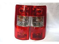 Transit Connect rear lights L R