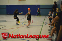 Dodgeball League - Coed and all skill levels welcome!