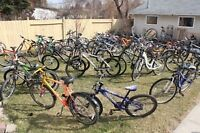 I am going to sell more than 100 bikes,Mountain,Hybrid,Road,BMX