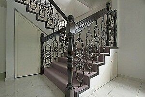 CARPET, WALL TO WALL, INSTALLED, STAIRS & RUNNERS