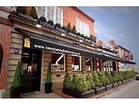 Waiting staff & Bar staff required at a busy restaurant in Harborne High Street