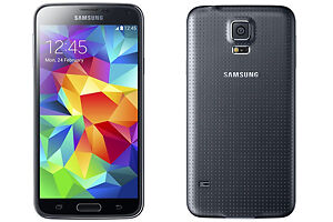 The Samsung Galaxy S5 mobile phone