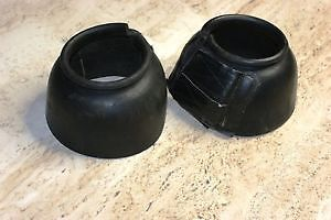 Two (2) Heavy Duty Bell Boots for horses