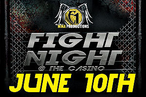 MMA SUPER RINGSIDE TICKETS JUNE 10TH CASINO MONCTON