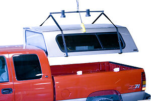 Truck Camper Shell Hoist A Top Manual Lift And Store