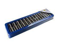 Bergen Tools 15pc 1/2'' DR Deep Sockets 10-24mm - Socket set