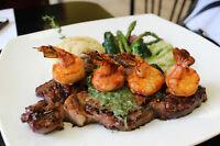 Halal Upscale Steakhouse –Waiter, Manager, Dishwasher(Scarboroug