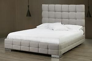 Canadian made Contemporary Queem Bed (TI24)