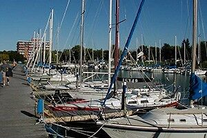 Sailboat slip available to rent from owner