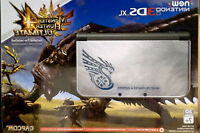 New 3DS XL Monster hunter 4 Silver