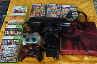 Xbox 360 S Gears of War 320 Gb KINECT 7 Games bundle