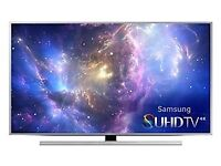 Samsung 55JS8000 Super 4K UHD Ultra Top Model Slim Complete with contect Box and smart remote